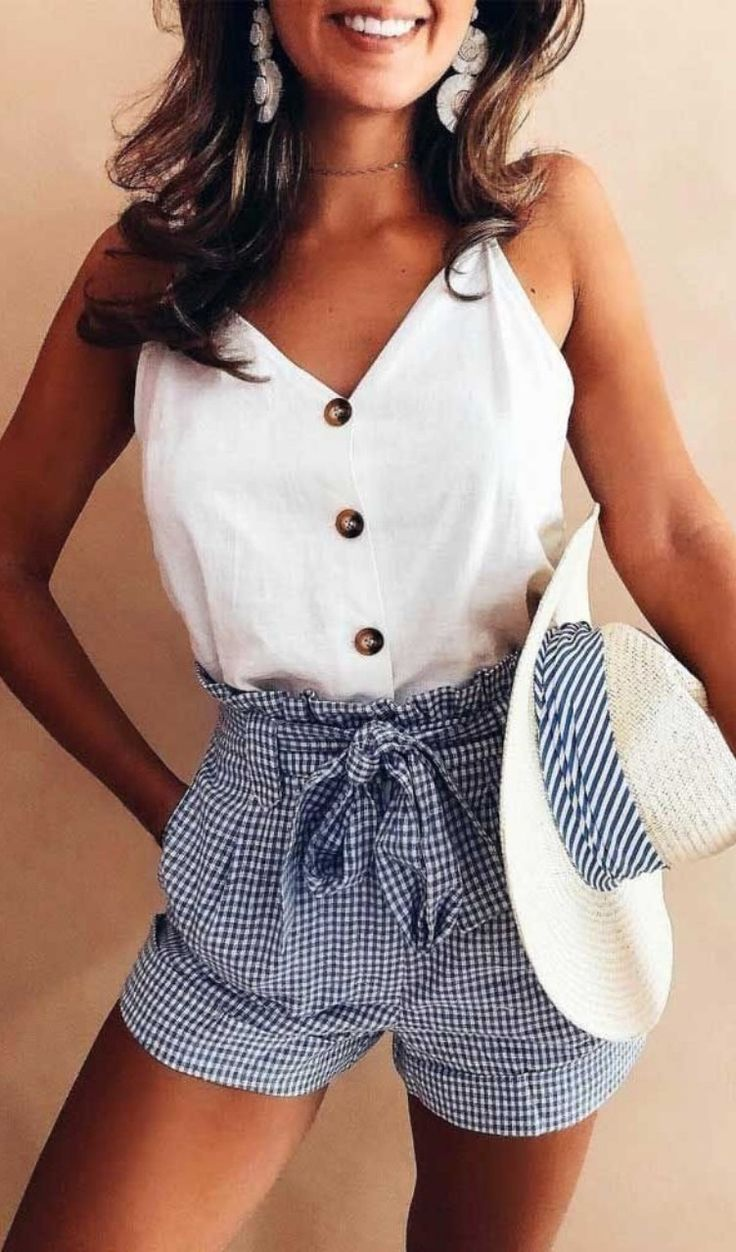 Perfect pinterest summer outfits Ideas #outfitideas #summeroutfit #summerdress #style