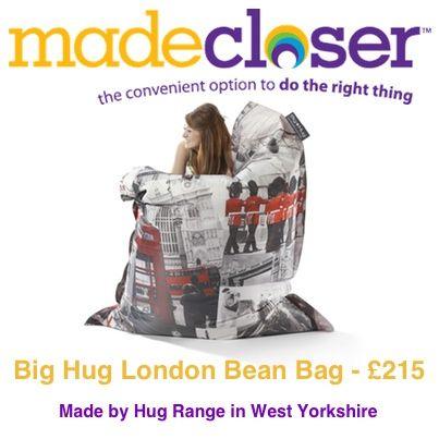 Product of the Week: Big Hug London Bean Bag made by Hug Range in West Yorkshire