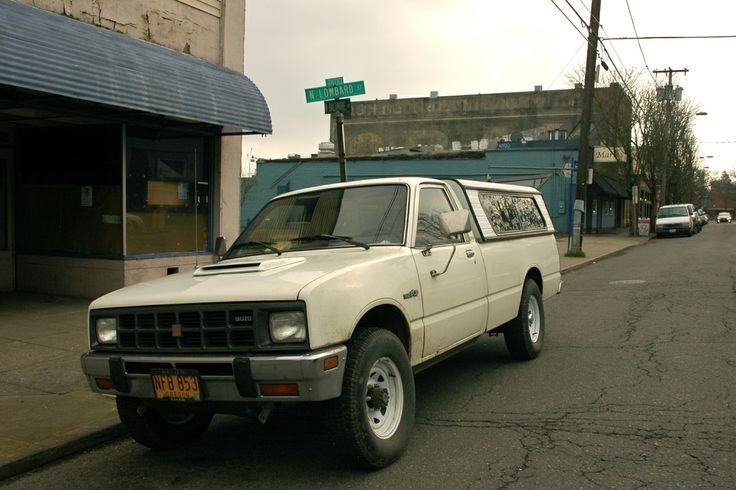 1982 Isuzu Pup Diesel Craigslist   1986 Isuzu P'up Turbo ...
