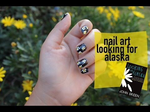 ▶ Nail art looking for alaska - YouTube