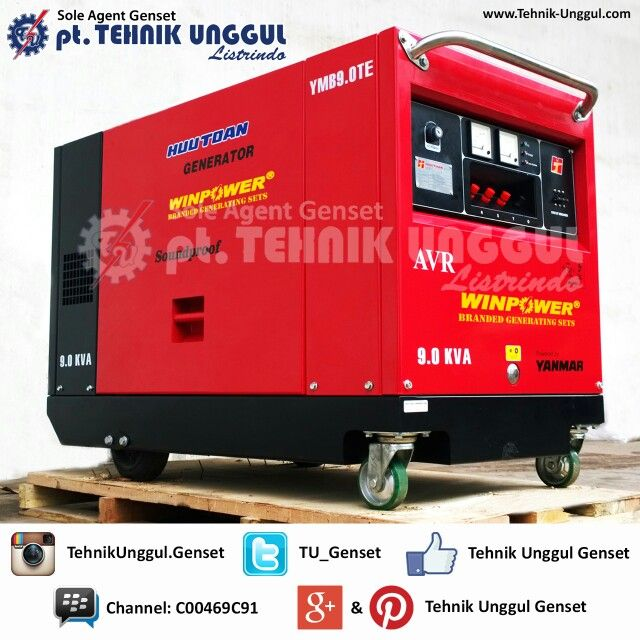 9 kVA Yanmar - Mecc Alte (Italy) Sound Proof Type Genset  Genset model: YMB9.0TEWP Phase: 3 Dimension: 1327 x 680 x 992 mm  We sell Yanmar YMB series Gensets from 5,3 kVA up to 17,3 kVA  #genset #gensets #generator #generators #generatorset #hargagenset #jualgenset #gensetbaru #yanmar #yanmargenset #yanmargenerator #gensetyanmar #gensetdistributor #distributorgenset #gensetsupplier #suppliergenset #winpower #gensetwinpower #winpowergenset #tehnikunggul #gensettehnikunggul #tehnikunggulgenset