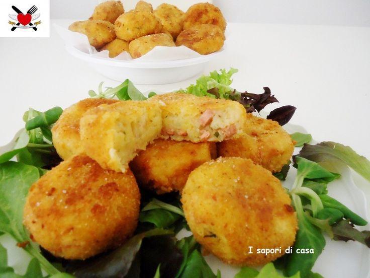 DSC08820 1024x768 Medaglioni di patate alla viennese   finger food sfizioso