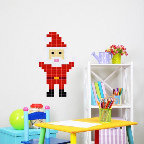 Mikołaj - Puzzle do naklejania