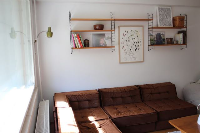 Living room - loving 50's, 60's and 70's decor