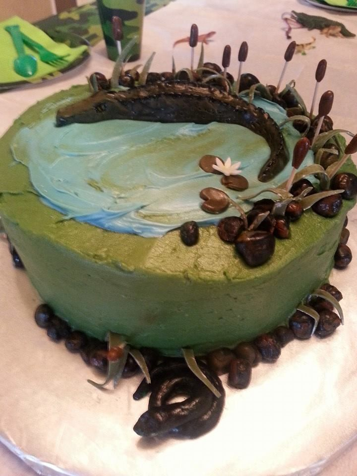 Snake Birthday Cake Pictures