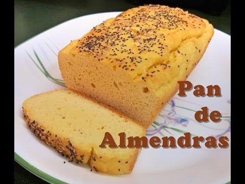 RECETA LOW CARB: PAN DE ALMENDRAS (KETO BREAD) - YouTube