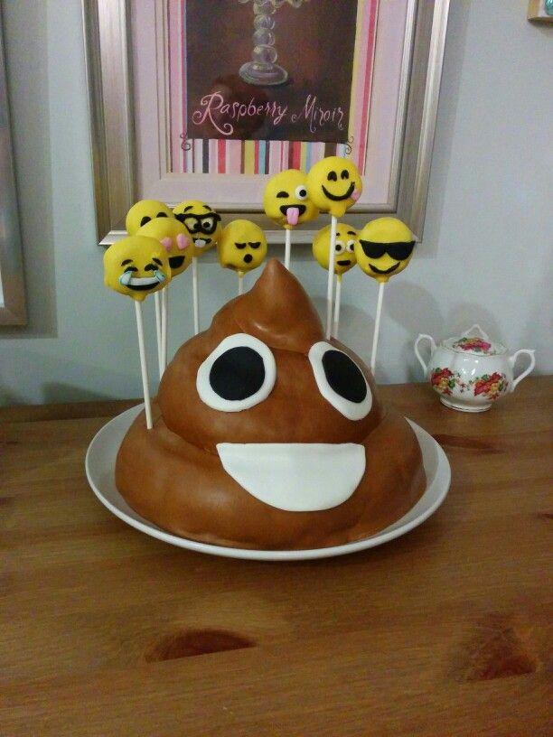 Emoji Cake Cakes Pinterest Emoji Cake And Cakes