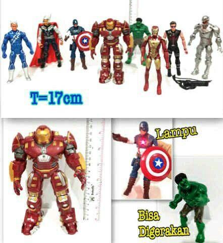 #cucigudang #miniatur #avengers , satuan @ 20 rb, #hulkbuster @30 rb
