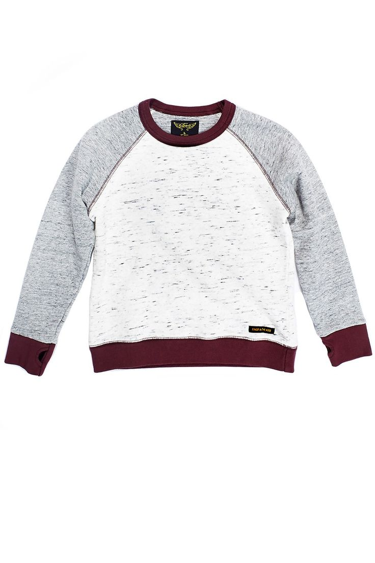 Finger in the Nose Hank Heather Cream Sweater