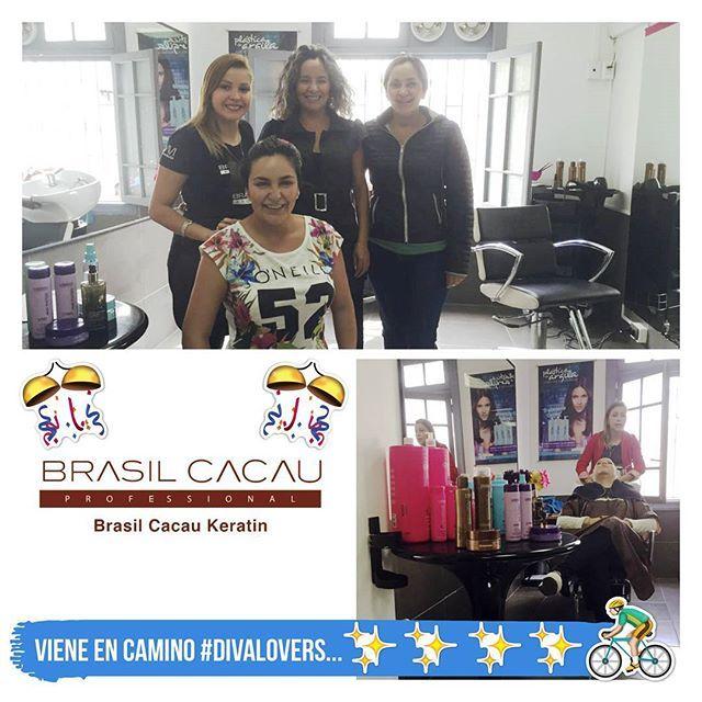 Éjale! Se viene, se viene   Frente a su petición constante para que incluyamos BRASIL CACAU, el otro día parte de nuestro amado staff salió en su búsqueda y... FUE TODO UN ÉXITO   #brasilcacau #straightening #straighteninghair #straight  #hairstylist #alisado #straighteningtreatment #capacitacion