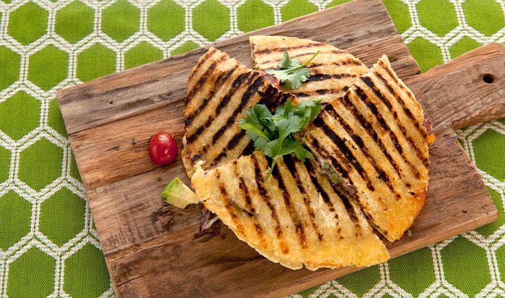 Vegetarische quesadilla's