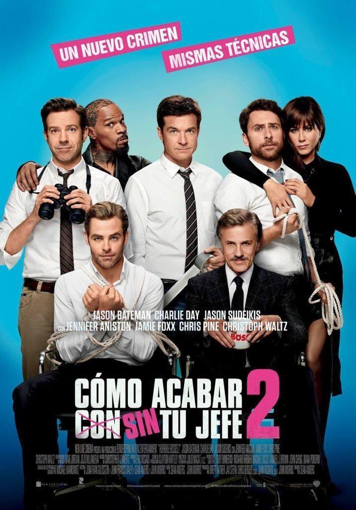 Quiero Matar A Mi Jefe Película Completa En Español Charlie Day Horrible Bosses Chris Pine