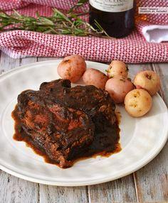 Receta de filete de res en salsa de chile pasilla y vino tinto. Para preparar en Thermomix. Con fotos del paso a paso, y consejos de degustación