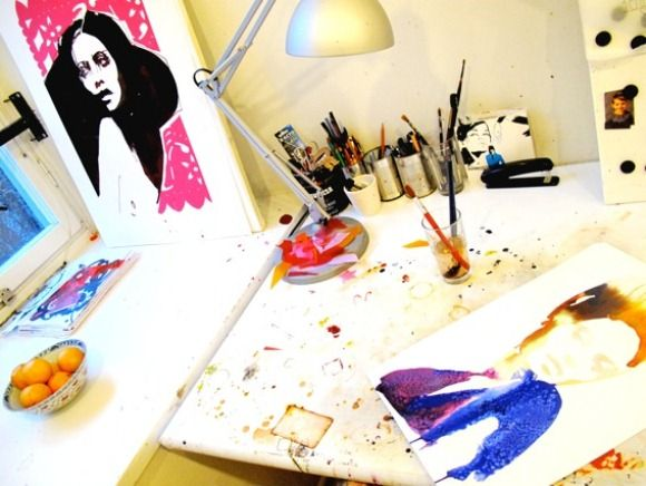 In The Artist Studio with Stina Persson
