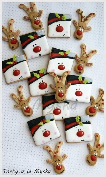 winter cookies by Myska …See the cake: http://cakesdecor.com/cakes/220328-winter-cookies