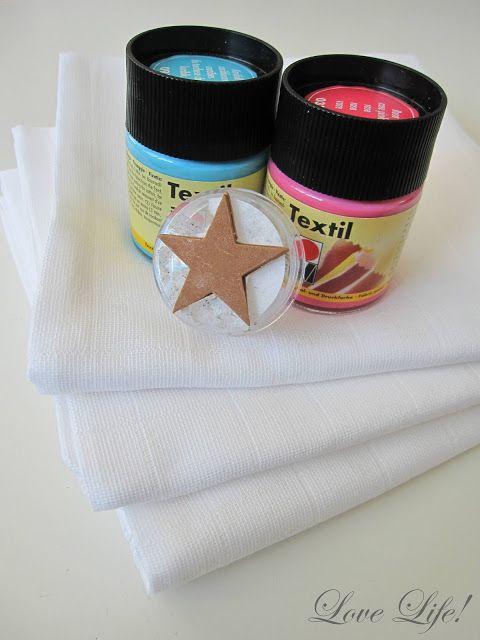 Wem einfache #Spucktücher zu langweilig sind, findet hier die #Anleitung um Spucktücher zu bedrucken