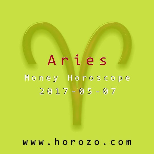 Aries Money horoscope for 2017-05-07: You need some physical exercise today but money issues take precedence. There are ways to fit it in where you can. Stairs instead of elevators work wonders, and walking instead of cabbing it will both save you money and burn off some calories..aries