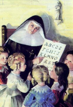 A Teaching Nun.: