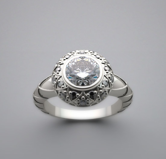 88 best Antique Style Engagement Rings images on Pinterest