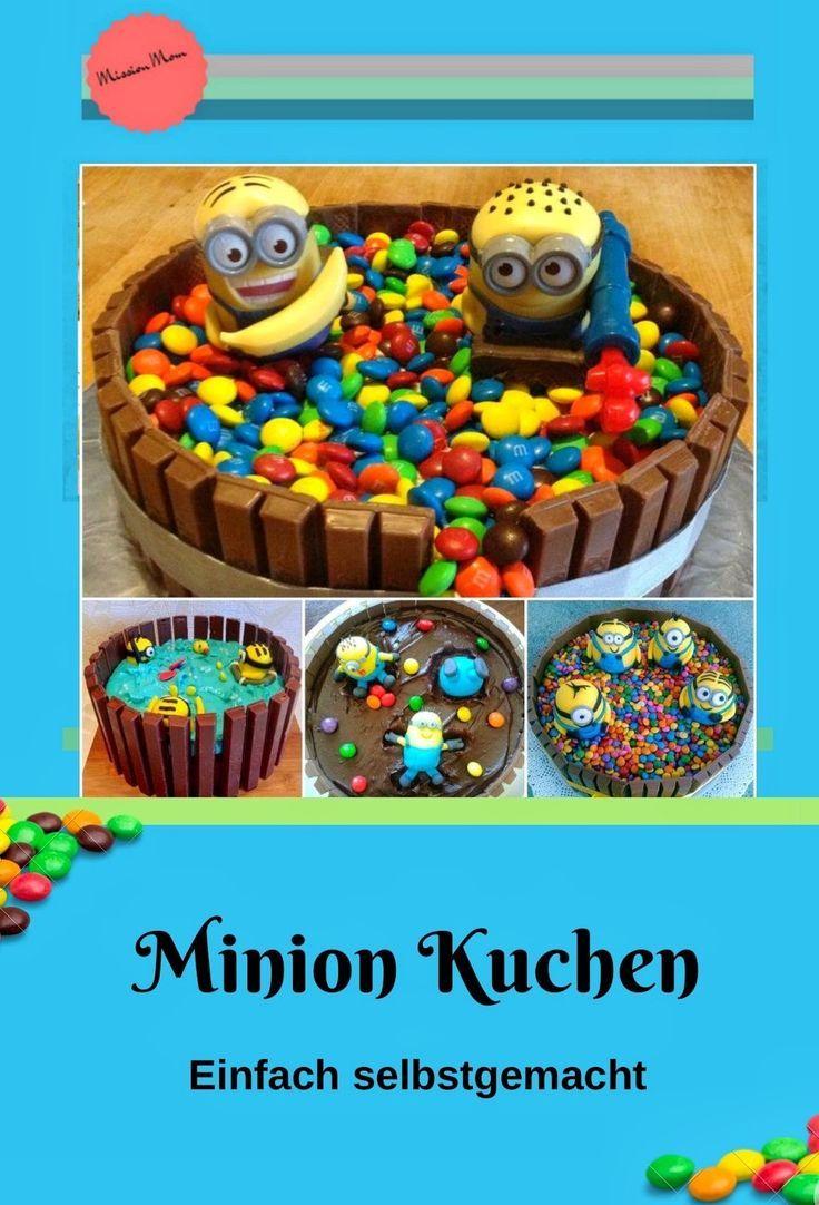 Einfacher Minion Kuchen Backen So Gehts Motivtorten Zum