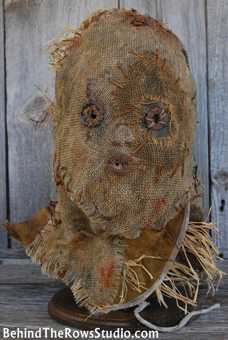 how to make a good scarecrow