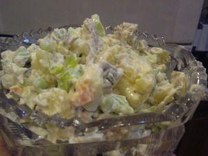 Фото к рецепту: Вкусный салат с мясом