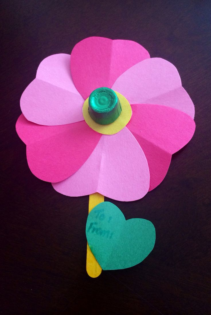 Valentines craft for class gifts
