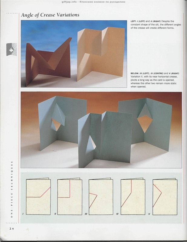 Как сделать открытку раскладушку из бумаги