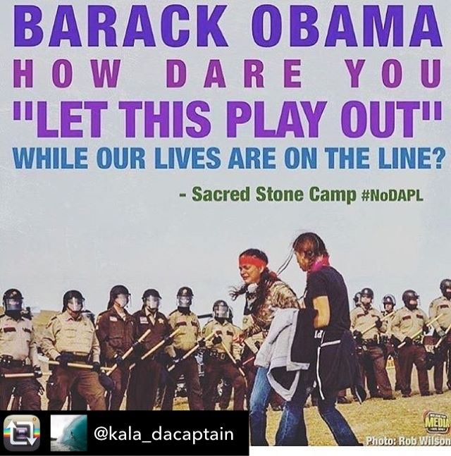 "Repost from @kala_dacaptain using @RepostRegramApp - WHY WOULD ANYONE WANT TO TREAT ANY OTHER HUMAN BEINGS LIKE THIS ?!? #Reposting @iansomerhalder with @instarepost_app -- PLEASE READ! Hearing that DAPL wants to bring in ""agitators"" disguised as protectors / protesters to stir up violence on the front lines in order to justify police retaliation. Morton county law enforcement has now been authorized to use live rounds at their discretion!! Spread this!!! #standingrock #standwithstandingrock…"