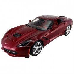 Maisto 2014 Corvette Stingray Coupe 1:24 Model Araba S/E Kırmızı