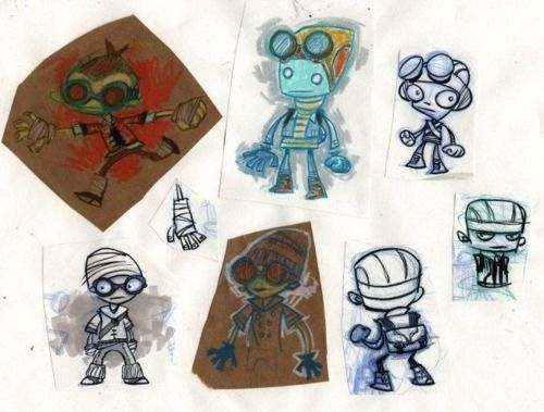 Something about Double Fine's work makes me feel like a kid again when it comes to games (in a good way).