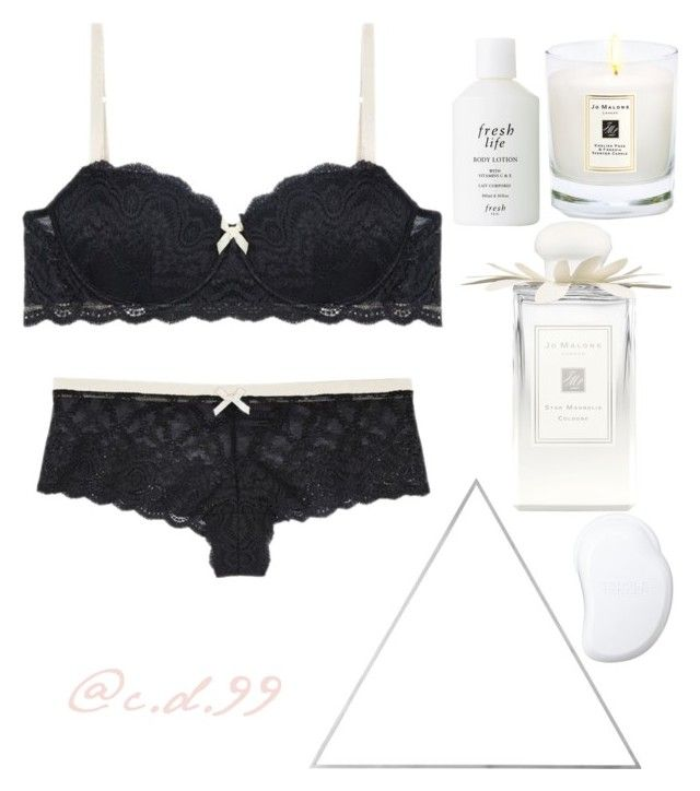 """""""Creme Puff"""" by cutiedonut99 ❤ liked on Polyvore featuring OuiHours, Jo Malone, Fresh, Menu and Tangle Teezer"""