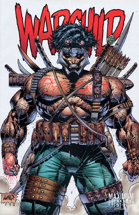 """Do you know what Warchild holds in all those pockets? WAR."" 40 New Worst Rob Liefeld Drawings."