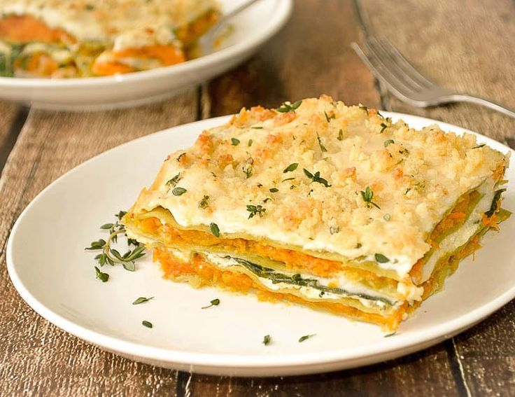 Butternut Squash and Spinach Lasagna {Vegan} You will absolutely love this sweet and savory lasagna. Layers of butternut squash, ricotta, fresh spinach and a creamy white sauce. If you can find them, these spinach-flavored lasagna sheets are a huge time-saver. Print Ingredients Ricotta Mixture: 1 C vegan Ricotta ½ vegan Parmesan Cheese 1 Tbl Almond …