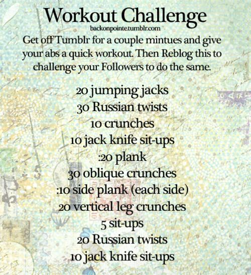 Workout challenge 2