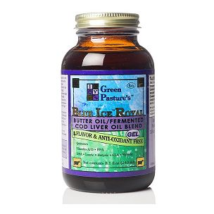 Blue Ice Royal Sabor Neutro, Mezcla Aceite de Mantequilla/Aceite de Hígado de Bacalao Fermentado