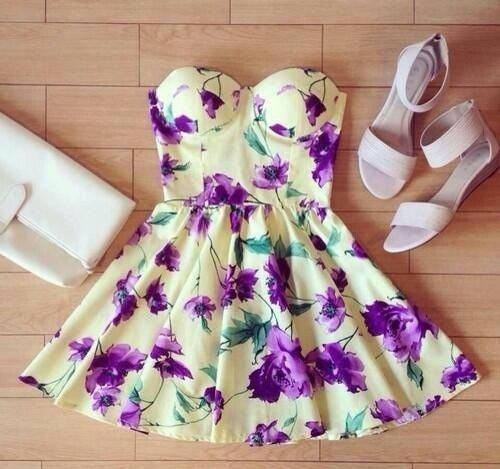 Girly Dress | via Tumblr