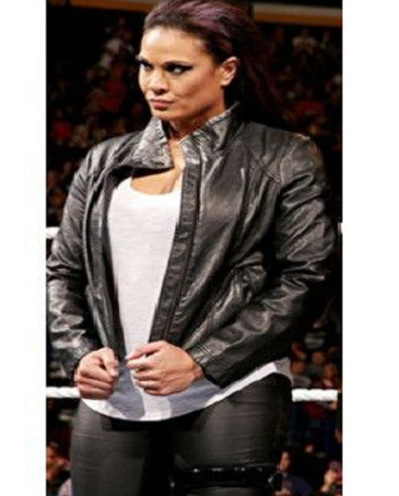 Tamina Snuka Leather Jacket (6)