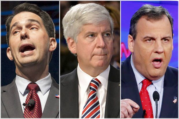 The GOP's reign of gubernatorial terror: Here are the small-government zealots who made their states considerably worse. Shameful DB's!