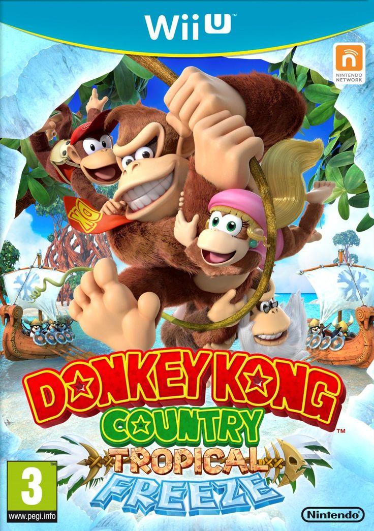 Donkey Kong Country : Tropical Freeze: Amazon.fr: Jeux vidéo