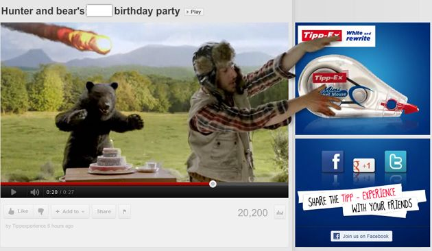 Hunter and bear's 2012 birthday party | Viral Advertising