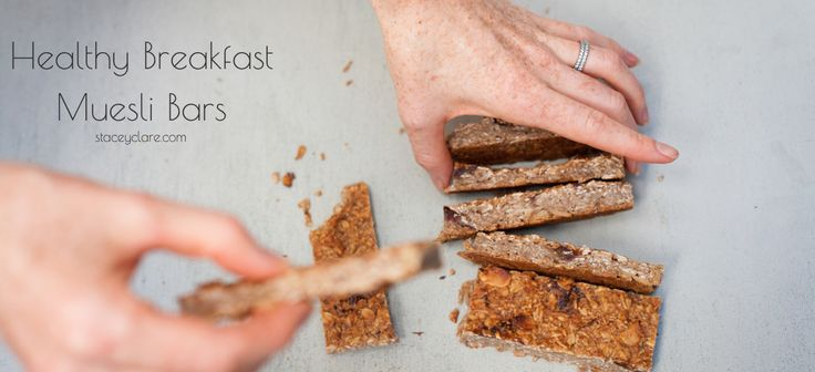 Stacey Clare – A Healthy Mum | Healthy Breakfast Muesli Bar Recipe - Stacey Clare