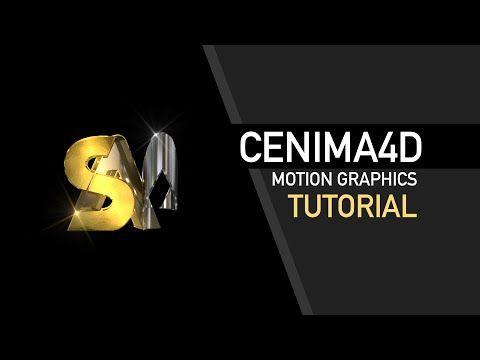 146) Cinema 4D Tutorial MoGraph - Motion Graphics - Logo