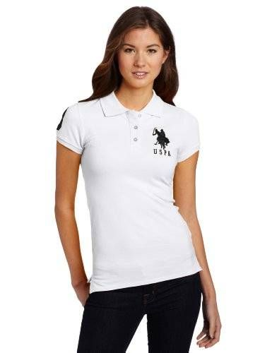 """Check out fashiotees Fashiotees's """"US Polo Assn. Juniors Solid Polo With Big Pony $19.99"""