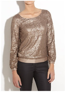 Shop Your TV: Gossip Girl: Season 5 Episode 8 - Sequin Jumper/ Sweater