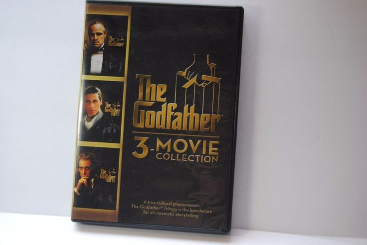 The Godfather: 3-Movie Collection: The Godfather / The Godfather Part II  used #UNIVERSALSTUDIOSHOMEENTERT