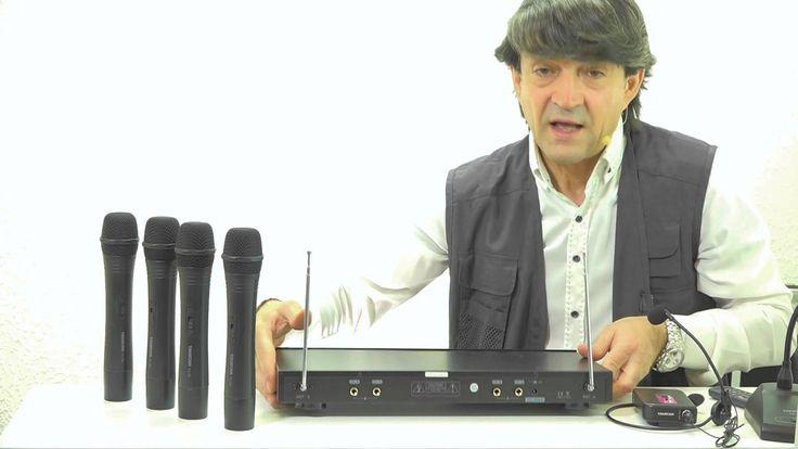 Radiomicrofoni doppi ? C'è di meglio,i radiomicrofoni quadrupli! Video