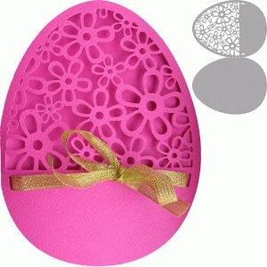 Silhouette Online Store: easter egg card