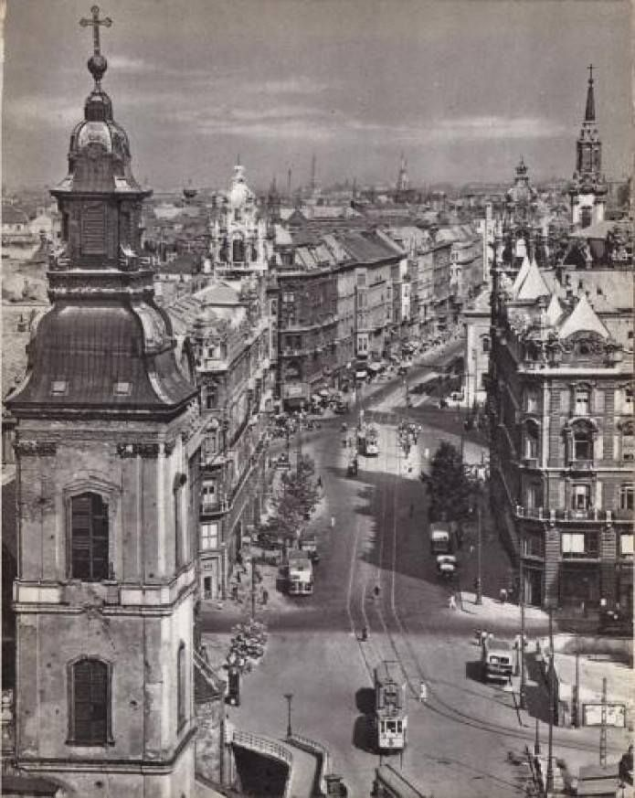 Ferenciek square 1959