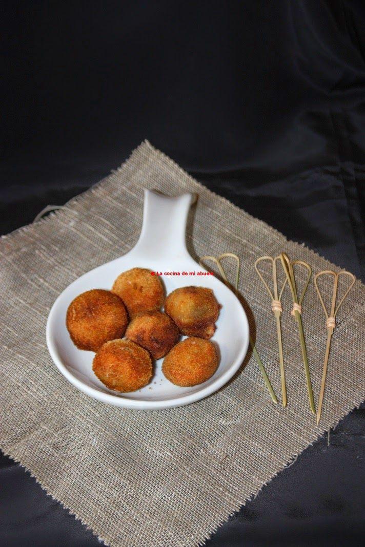 La cocina de mi abuelo: Receta: croquetas de roquefort y nueces